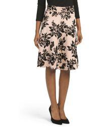 Tj Maxx - Flocked Skirt - Lyst