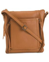 582e62415266 Tj Maxx - Orlando Leather Crossbody - Lyst