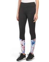 406e067ecaad4 Tj Maxx - Spring Floral Printed Leggings - Lyst