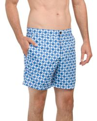 Tj Maxx - Optical Mod Print Swim Shorts - Lyst