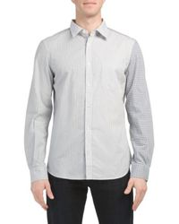 Tj Maxx - Patchwork Block Shirt - Lyst