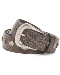 Tj Maxx - Made In Italy Coins Leather Belt - Lyst