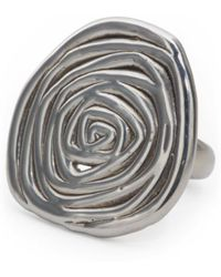 Tj Maxx - Made In Israel Sterling Silver Swirly Ring - Lyst