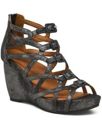 Tj Maxx | Ultimate Comfort Suede Wedge Sandals | Lyst