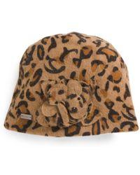 Tj Maxx - Wool Hat With Flower Detail - Lyst