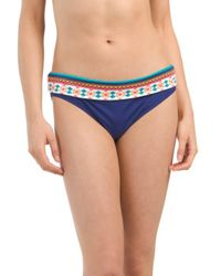 Tj Maxx - Foldover Mid Waist Bikini Bottom - Lyst