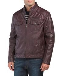 TJ Maxx Leather Coat