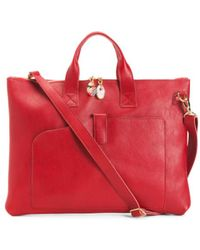 Tj Maxx - Made In Italy Leather Briefcase - Lyst