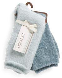 Tj Maxx - 2pk Cozy Bunny Ski Socks - Lyst