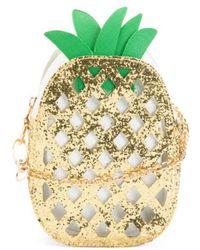 86cb5da75eae Lyst - MICHAEL Michael Kors Pineapple Cross-body Bag in Yellow