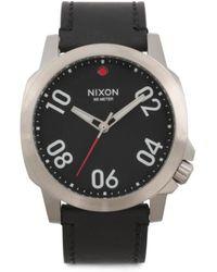 Tj Maxx - Men's Ranger 45 Leather Strap Watch - Lyst