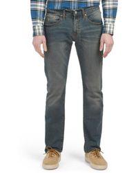 Tj Maxx - Slim Straight Stretch Denim Jeans - Lyst