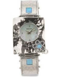 Tj Maxx - Women's Made In Israel Sterling Silver Opal Flower Watch - Lyst