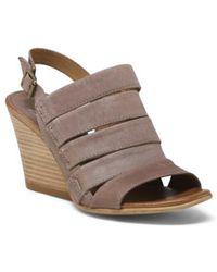 Tj Maxx - Slingback Modern Leather Sandals - Lyst
