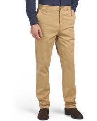 Tj Maxx - Garment Dye Stretch Chinos - Lyst