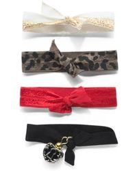 Tj Maxx - 4pk Fashion Bracelet Hair Ties - Lyst
