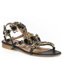 Tj Maxx - Made In Italy Jewel Ankle Sandals - Lyst