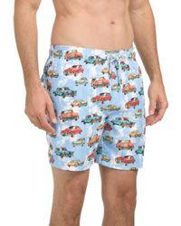 Tj Maxx - Car Printed Swim Shorts - Lyst