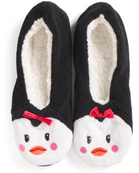 Tj Maxx - Penguin Micro Cozy Pull-on Slippers - Lyst