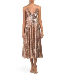 c0b69abaddccd Lyst - Tj Maxx Embroidered Sequined Gown in Black