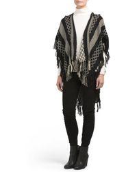 Tj Maxx - Hooded Woven Blanket Wrap - Lyst