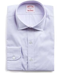 Hamilton | Lavender Solid Pinpoint Shirt | Lyst