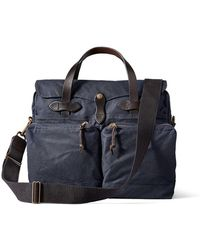 Filson - 24 Hour Tin Briefcase In Navy - Lyst