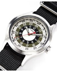 Timex - The Mod Watch In Olive - Lyst
