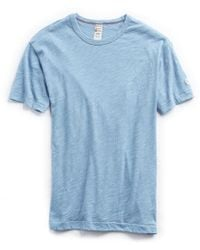 Todd Snyder - Champion Classic T-shirt In Dusty Blue - Lyst