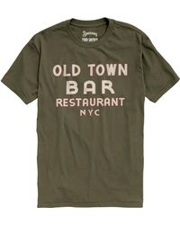 Todd Snyder - Speakeasy Old Town In Olive - Lyst