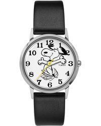Timex - Timex X Peanuts Snoopy On The Move Watch - Lyst
