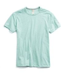 Todd Snyder - Champion Classic T-shirt In Vintage Aqua - Lyst