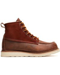 Red Wing - Exclusive Red Wing X Todd Snyder Moc Toe Boot In Copper - Lyst