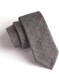 Todd Snyder - Charcoal Plaid Pointed Tie - Lyst