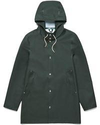 Stutterheim | Stockholm Basic Raincoat In Green | Lyst
