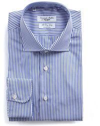 Todd Snyder - Banker Stripe Wrinkle Free Dress Shirt - Lyst