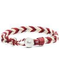 George Frost - Woven Bracelet - Lyst