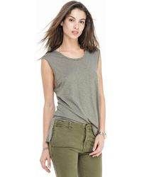 Todd Snyder - Women's Muscle Tee In Sage - Lyst