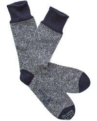 Corgi - Marled Sock In Navy - Lyst
