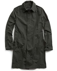 Todd Snyder - Tech Trenchcoat In Olive - Lyst