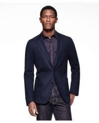 Todd Snyder - Sutton Unconstructed Sportcoat In Italian Navy Heather Wool - Lyst