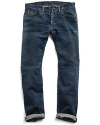 Todd Snyder - Made In L.a Selvedge Medium Indigo Wash Jean - Lyst