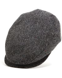 Lock & Co. - Lock And Co Charcoal Donegal Newsboy Drifter Cap - Lyst