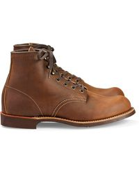 """Red Wing - Red Wing Blacksmith 6"""" Boot In Copper Rough And Tough Leather - Lyst"""
