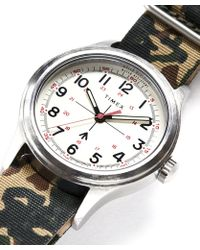 Timex - The Military Watch In White - Lyst