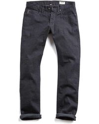 Todd Snyder - Made In L.a Selvedge Black Rinse Jean - Lyst