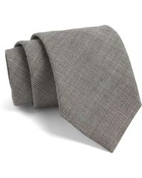 Todd Snyder | Fulton Plaid Tie In Grey | Lyst
