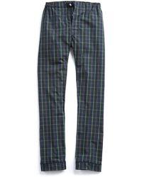 Sleepy Jones - Marcel Pyjama Pant In Mackenzie Plaid - Lyst