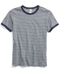 Todd Snyder - Champion Striped Tee In Navy - Lyst
