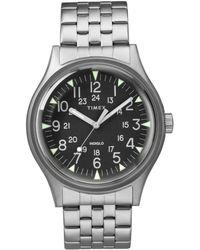 Timex - Timex Mk1 Steel Watch With Steel Bracelet - Lyst
